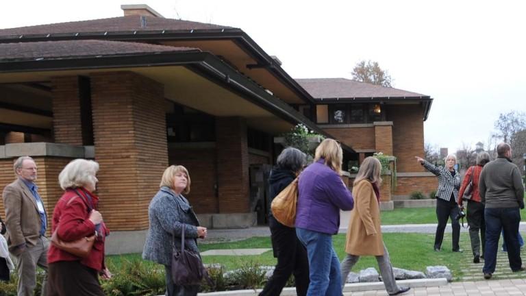 Frank Lloyd Wright's <br>Martin House Complex