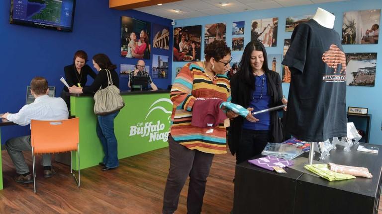 Buffalo Niagara<br>Visitor Center
