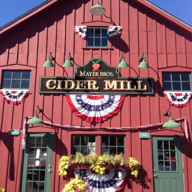 Cider Mill store front