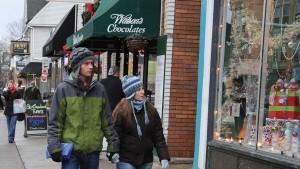Shopping along Elmwood Avenue