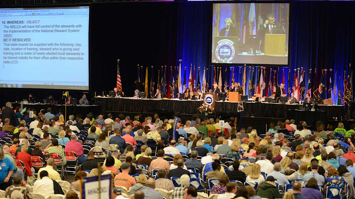 National Rural <br>Letter Carriers <br>annual convention