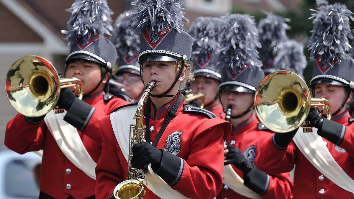 Student musicians <br>love Buffalo!