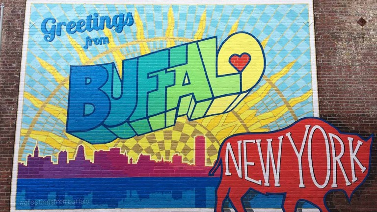 Greetings from Buffalo