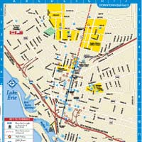 Map of niagara falls hotels and attractions Newatvsinfo