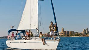 sailing Buffalo River