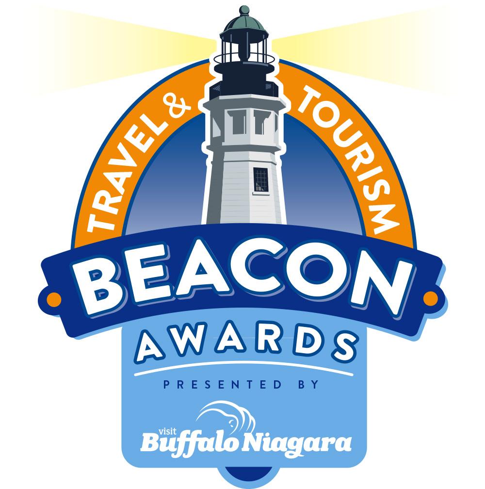 Beacon Awards logo yellow