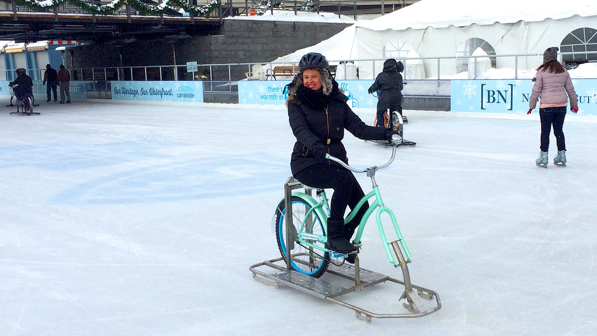 Ice Bikes of Buffalo at Canalside