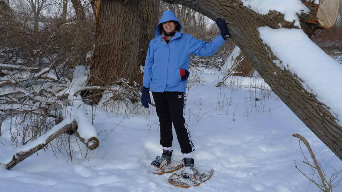Snowshoeing at <br>Tifft Nature Preserve