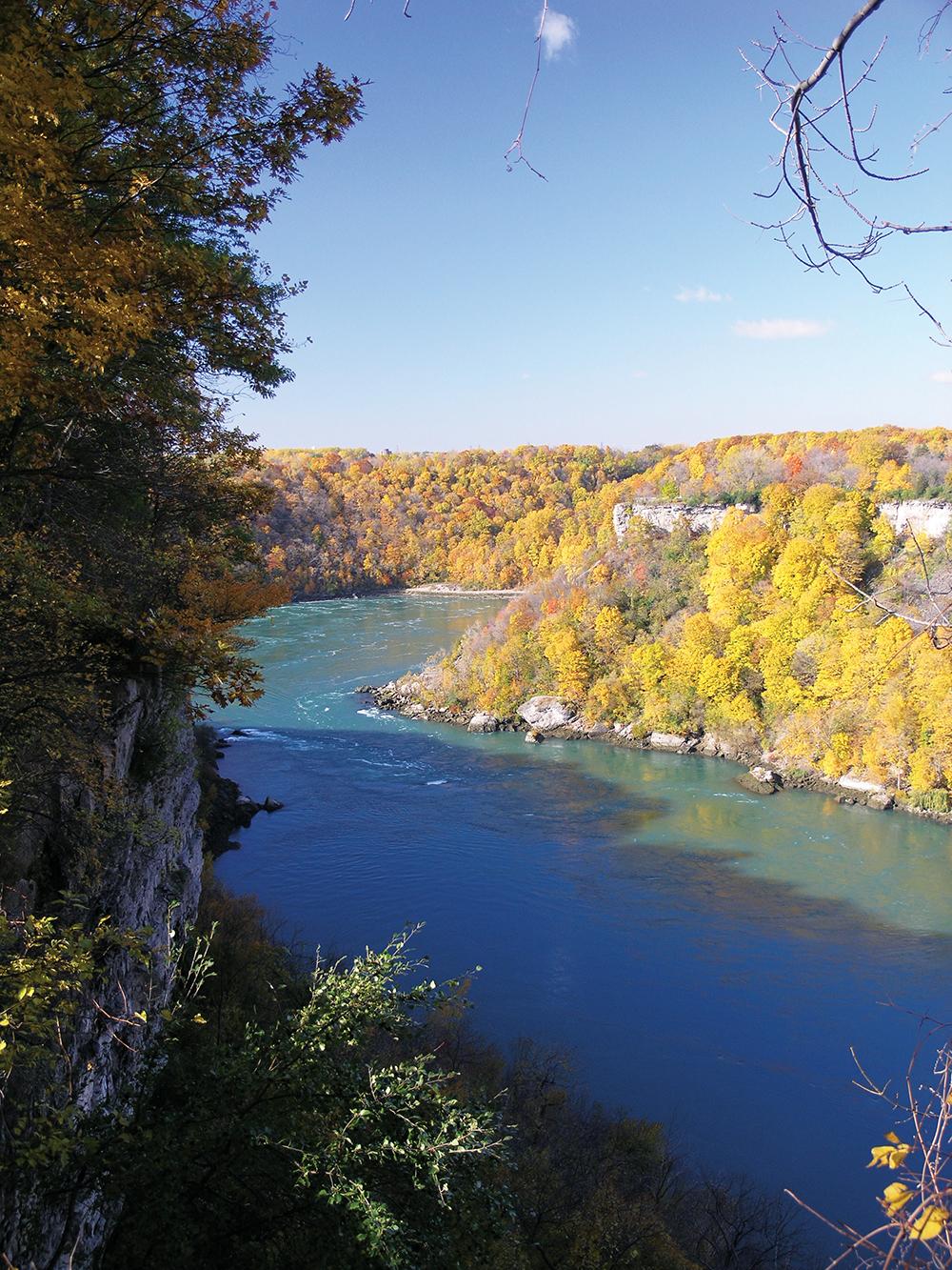 Niagara Gorge Autumn