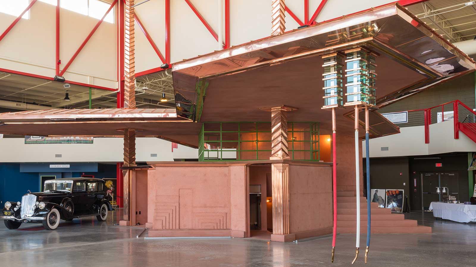 Frank Lloyd Wright Gas Station