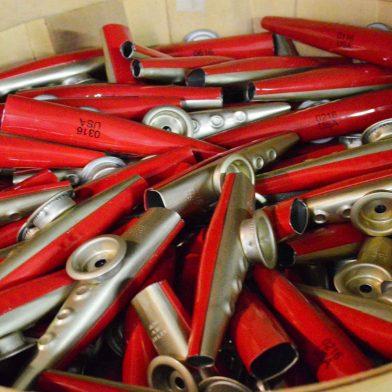 Pile of kazoos