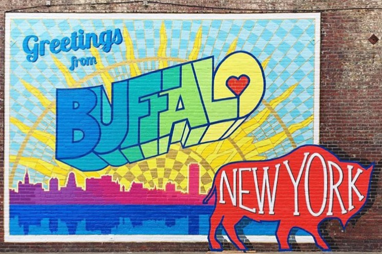 9 ways to experience the new buffalo this thanksgiving for Bufflon revetement mural