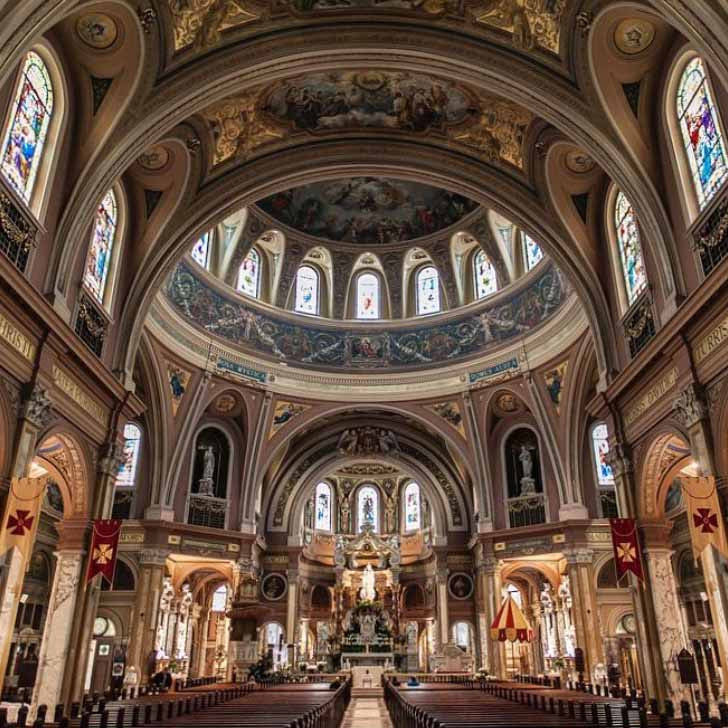 Our Lady of Victory Basilica, 767 Ridge Rd., Lackawanna - photo by Mike Shriver