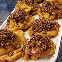 Sticky Buns from Carriage Trade Pastries