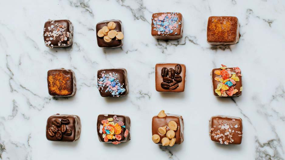 Sponge candy from Fowler's Chocolates