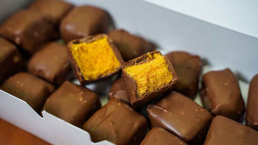 Sponge Candy from Mikes Candies