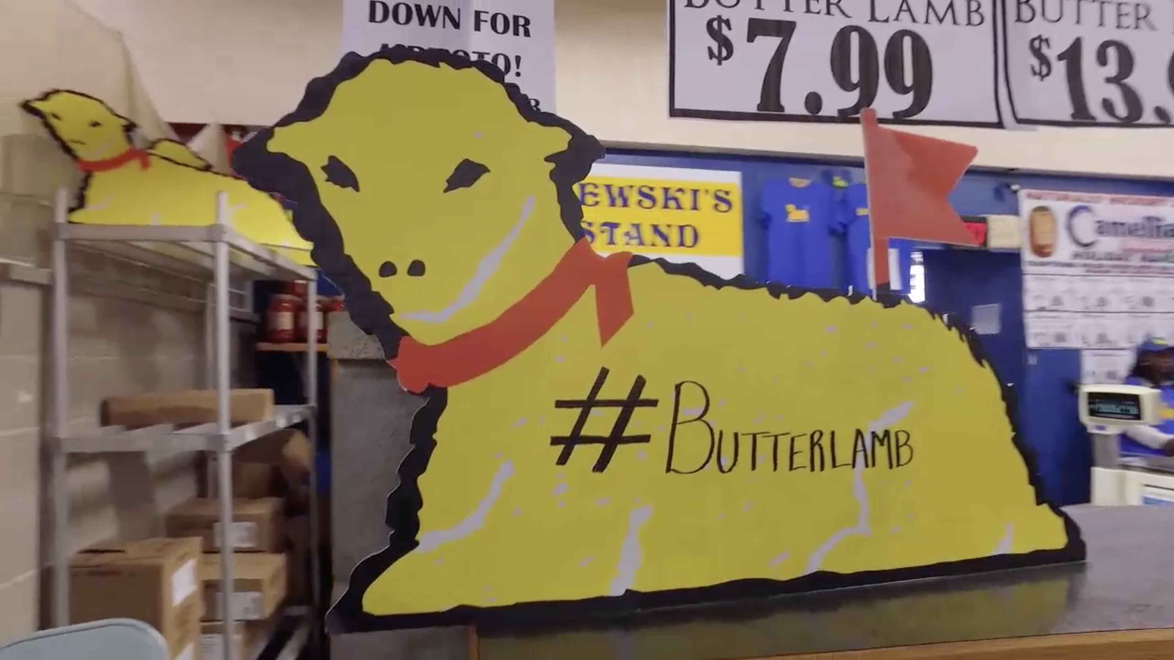 The History Of The Butter Lamb Visit Buffalo Niagara