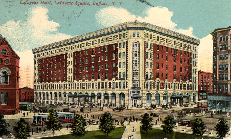 Lafayette Hotel Historic