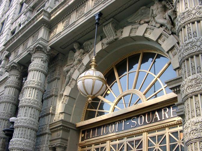 Ellicott-Square-entrance