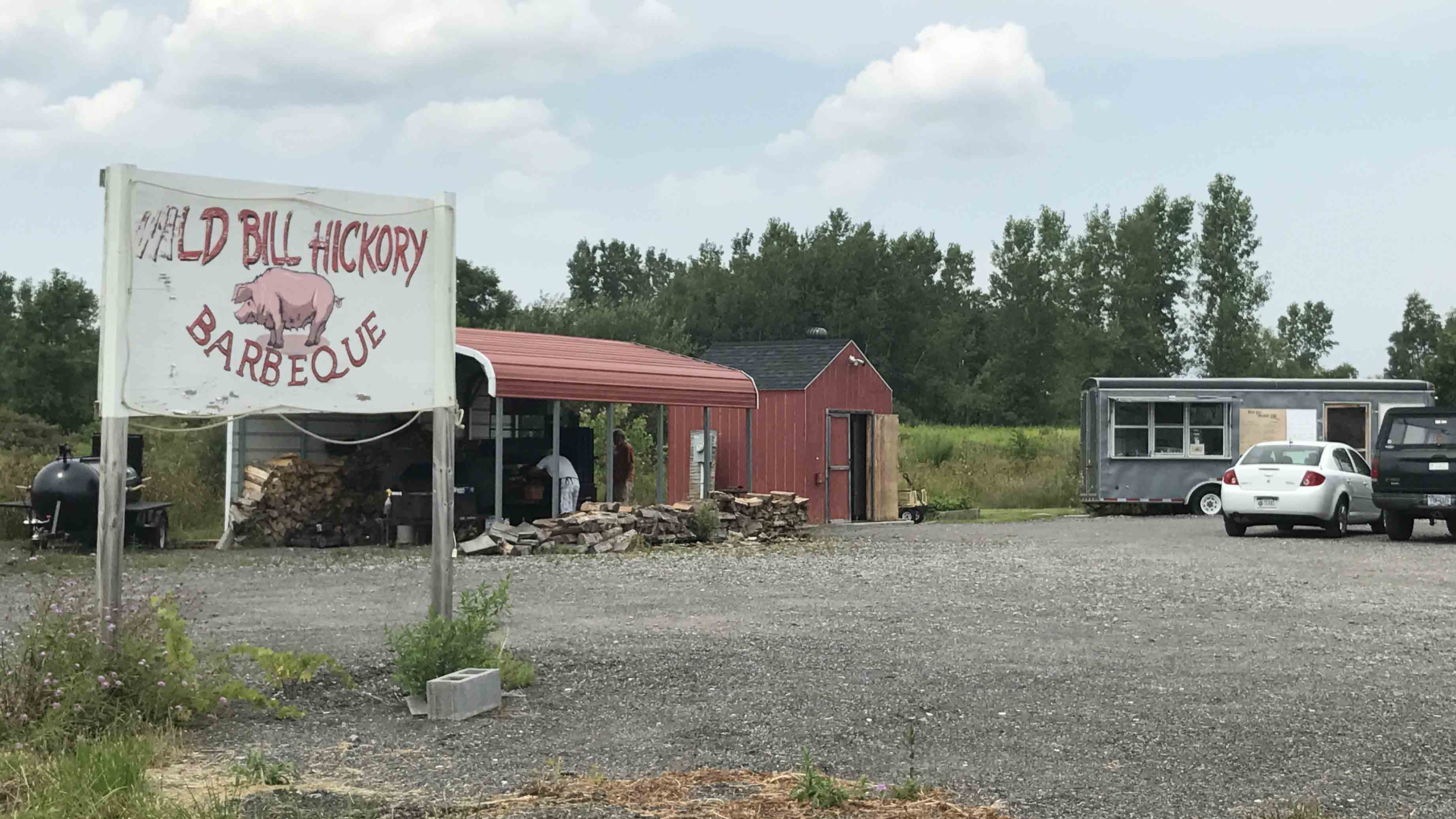 Roadside Find Wild Bill Hickory Bbq In Clarence Visit