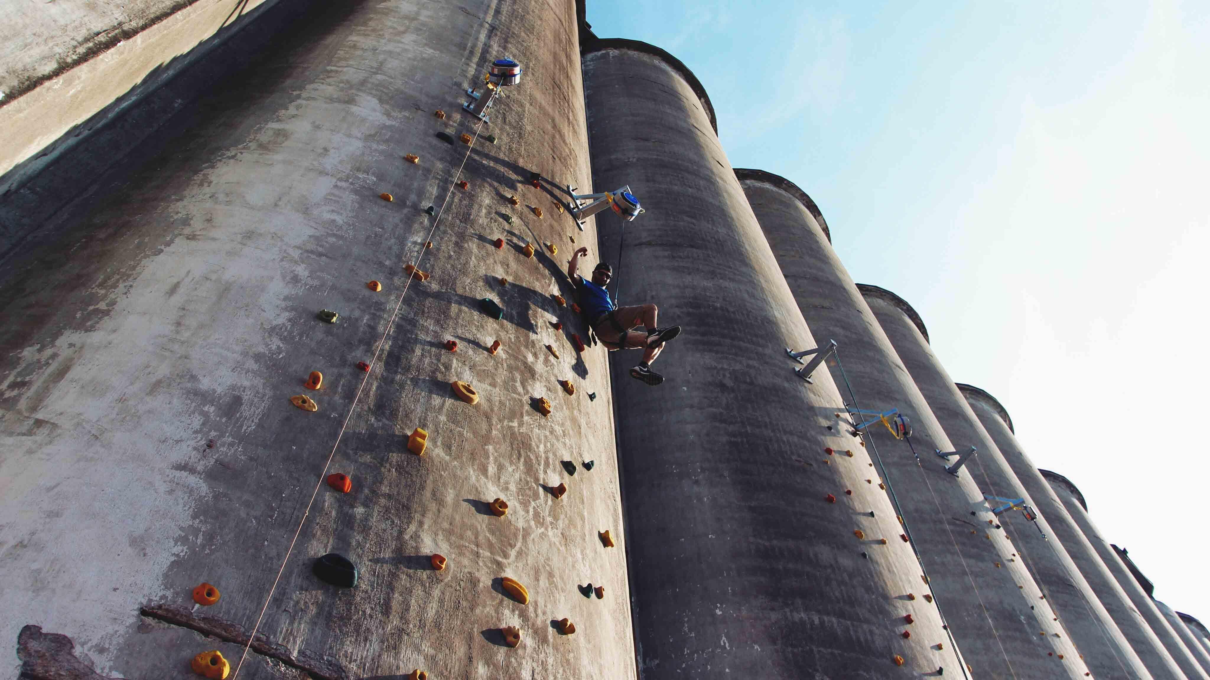 How To Climb The Wall Of A Grain Silo Visit Buffalo Niagara