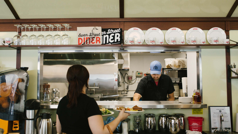 Swan St Diner A Vintage Diner Given New Life At Larkin Visit Buffalo Niagara