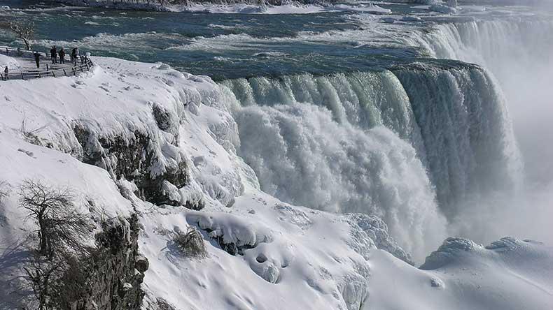 Experience A Winter Wonderland Niagara Falls State Park