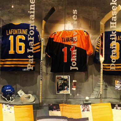 Sports Exhibit at the Buffalo History Museum