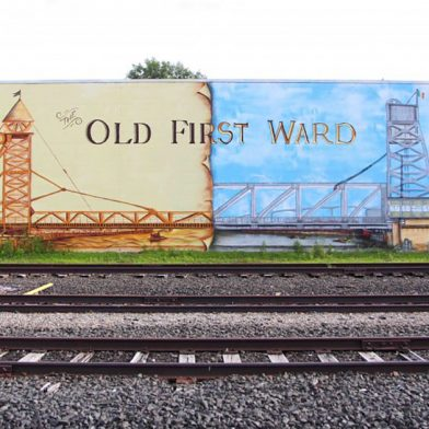Old First Ward train tracks