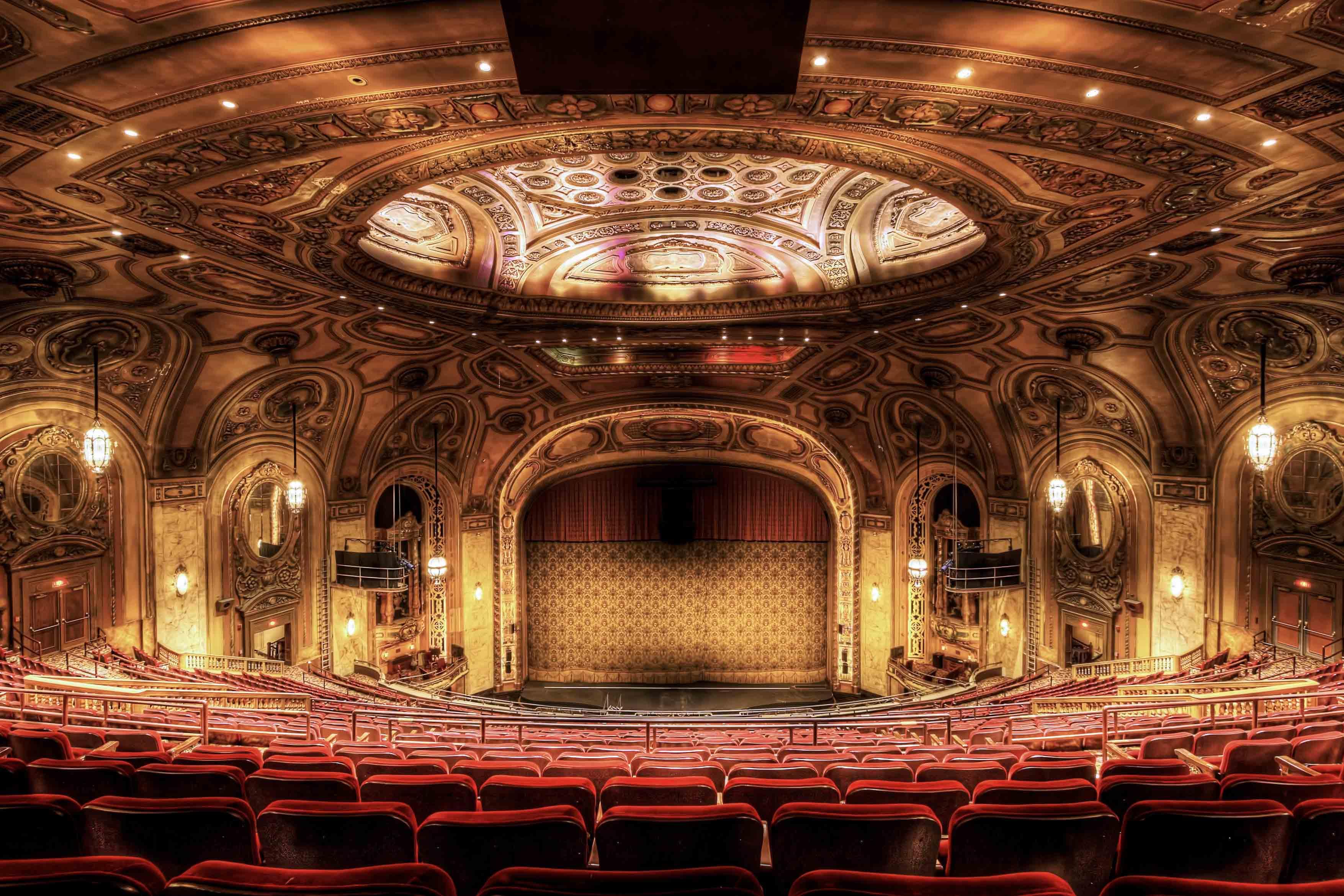 Sheas Performing Arts Seating Chart