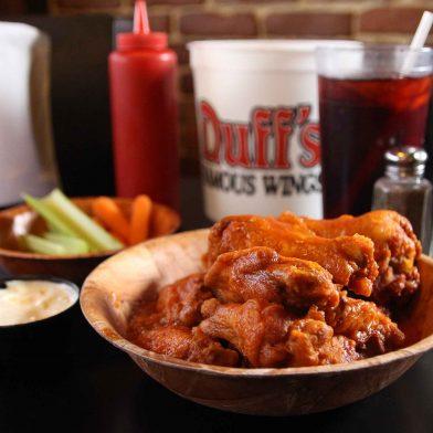 Duffs Very Very Hot buffalo wings