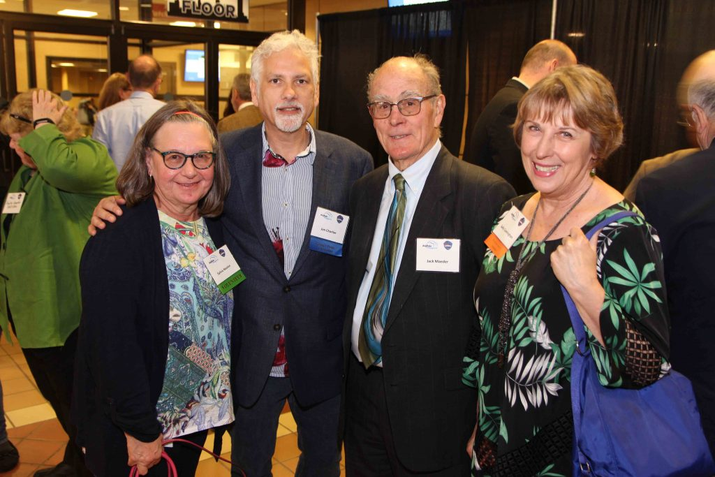Sally Cunningham, Buffalo Ambassador of the Year with Sylvia Nealon, Jim Charlier and Jack Maeder