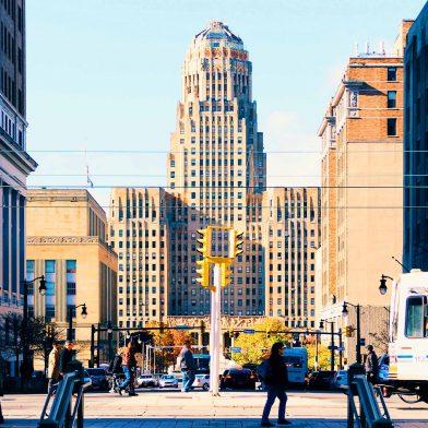 Downtown Buffalo, NY