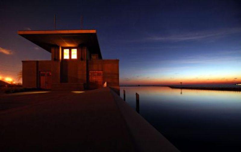 Frank Lloyd Wright's Fontana Boathouse