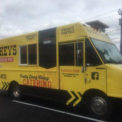 Dickeys Barbeque Pit Food Truck Visit Buffalo Niagara