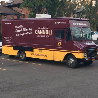 Rolling Cannoli Food Truck Visit Buffalo Niagara