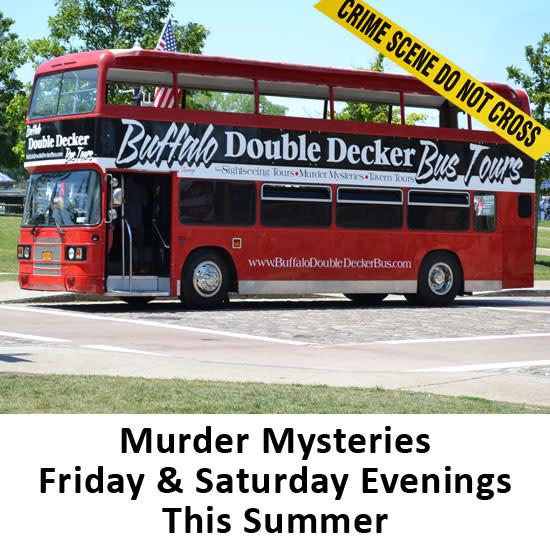 Event: Double Decker Bus-Murder Mystery Tour - Visit Buffalo Niagara