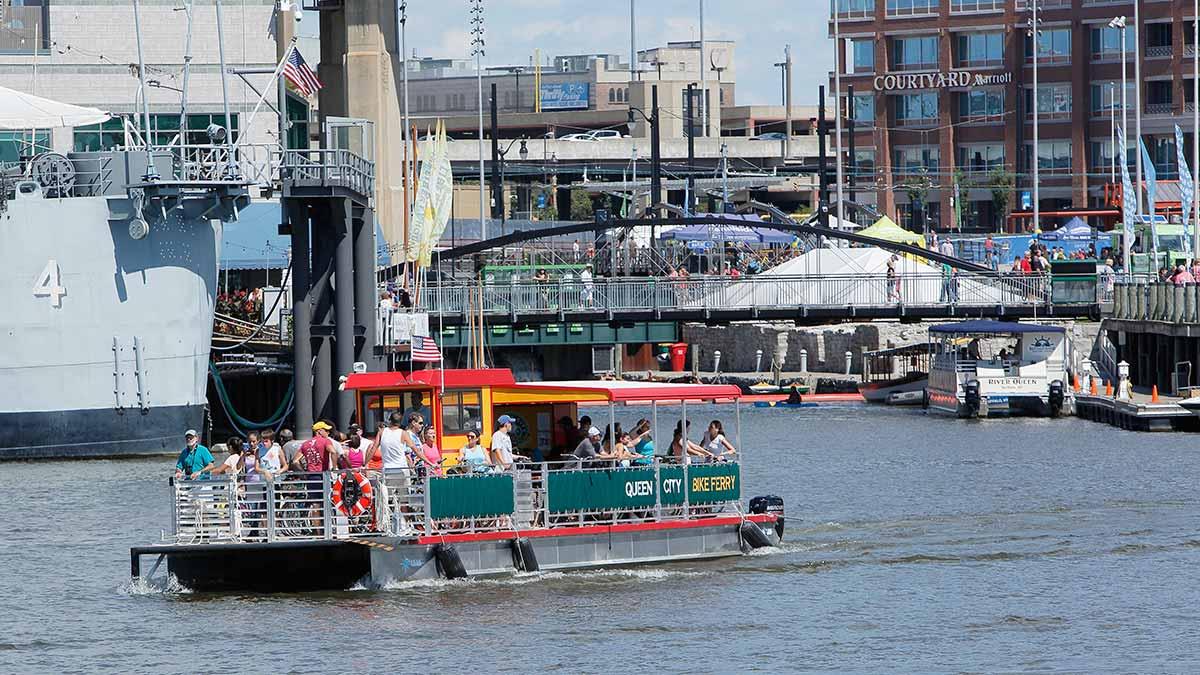 Queen City Bike Ferry