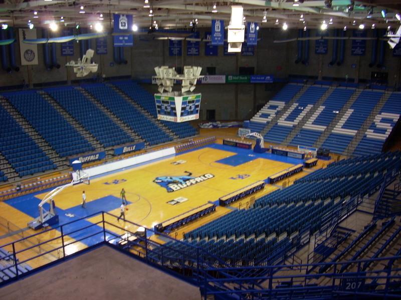 University At Buffalo Alumni Arena Gymnasium Visit Buffalo Niagara