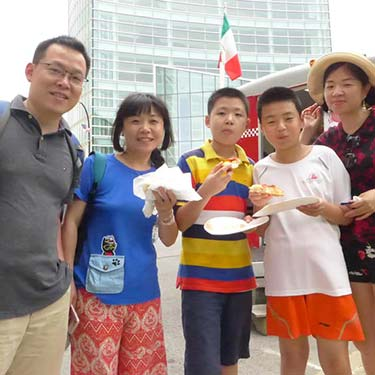 A family from Beijing, China