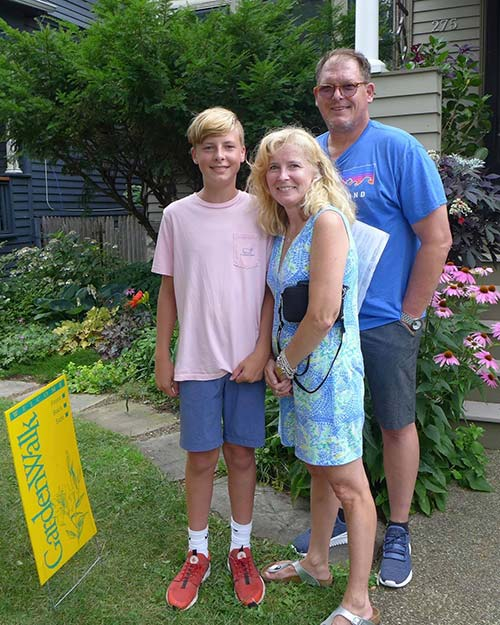 Cindy, Tom, and Dylan Murphy