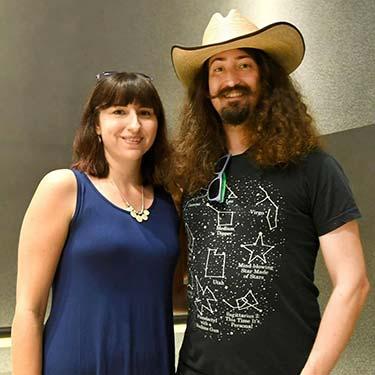 Sylvia Sierra and Dan Simonson