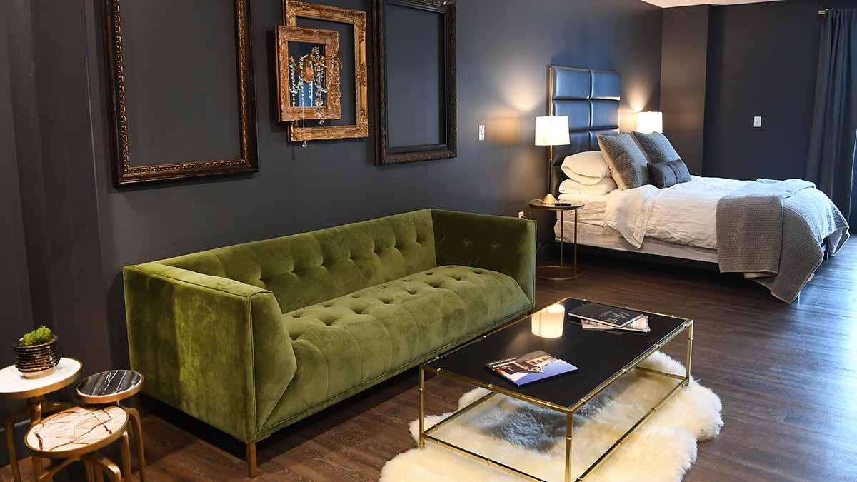 Room at the Lofts at 42North AirBNB