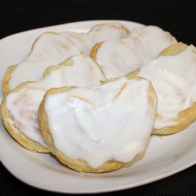 Mini Pastry Hearts