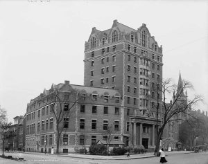 Vintage photo of the YMCA Building in 1908