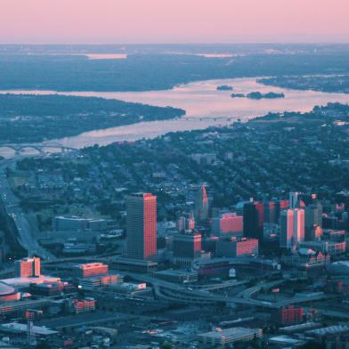 Buffalo, NY skyline