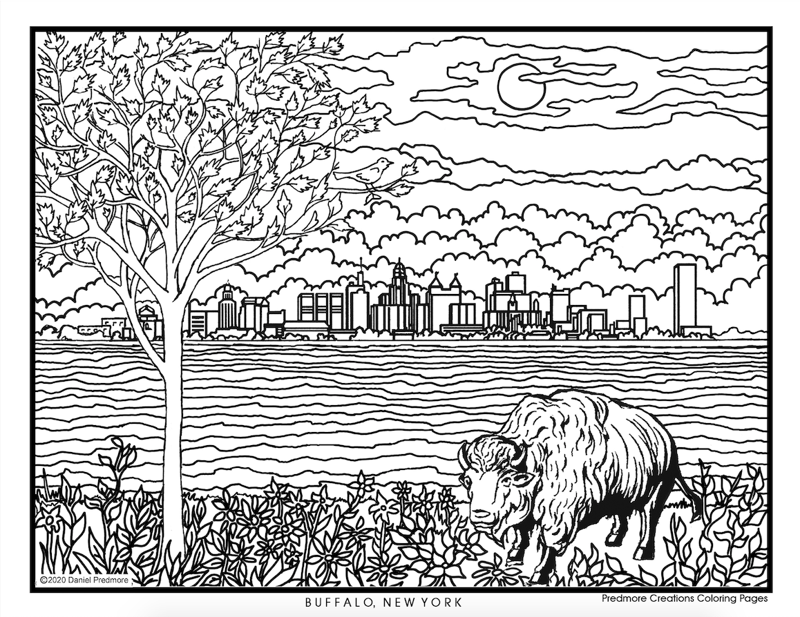 - Free Printable Buffalo Coloring Book Pages To Brighten Your Day
