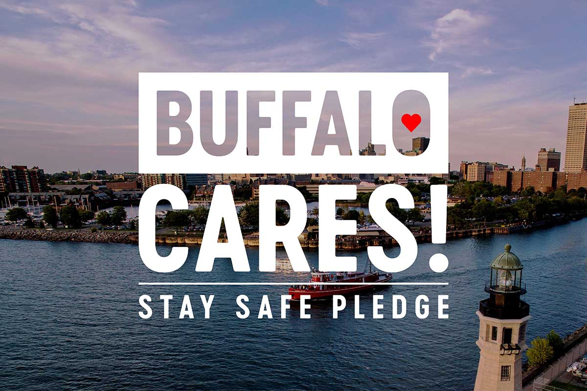 Buffalo Cares! Stay Safe Pledge