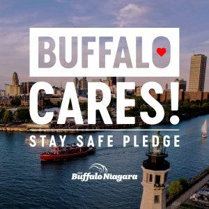 Buffalo Cares, stay safe pledge
