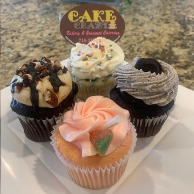 Cupcakes form Cake Crazy Bakery